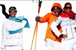 SNOW Ski Wear Editorial Shoot