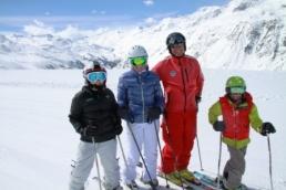SNOW Team in Obergurgl