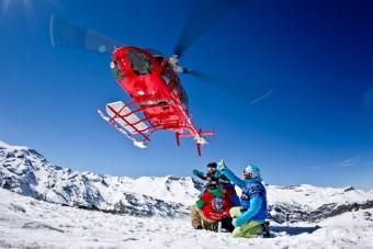 Valle Nevado Heli SKiing