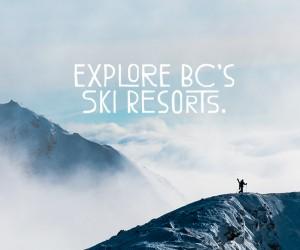 explore british columbia skiing
