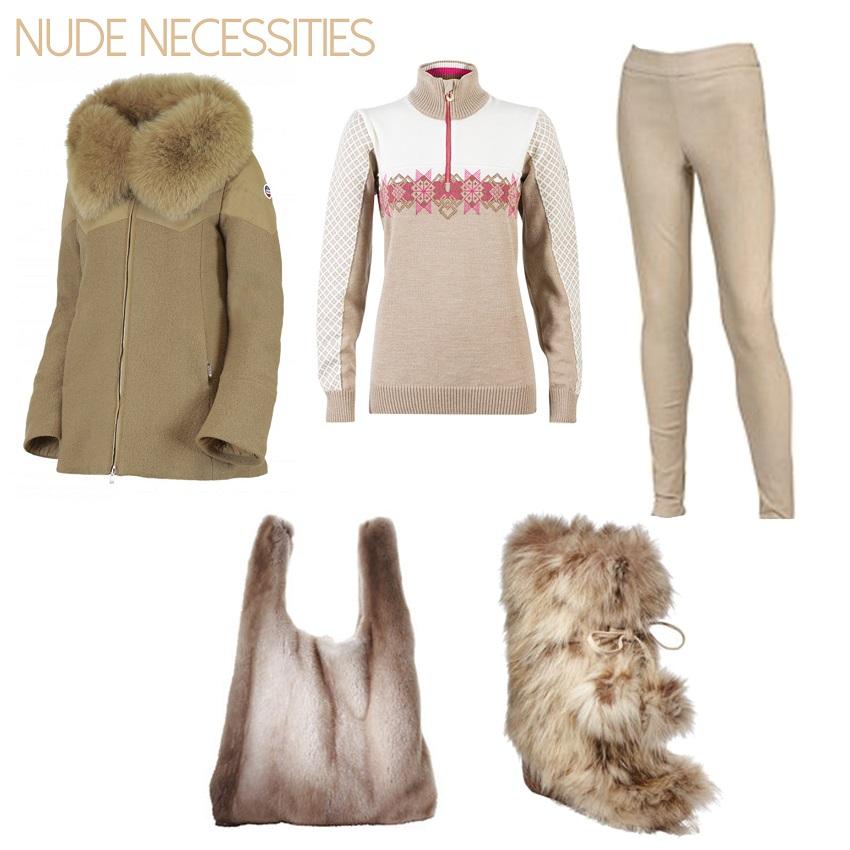 Go Nude for Ski and Apres Ski