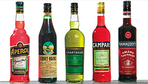 bitters selection