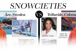 Åre, Sweden vs Telluride, C.O.