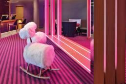 pretty in pink Val Thorens Sensations Club Med Resort