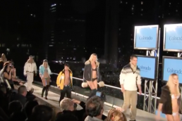 sexy winter fashion show