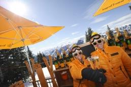 Aspen Oasis mobile Champagne bar