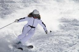 Portillo Ski Video - Top Pro on Bomber Skis Luxury Ski Wear by Fendi