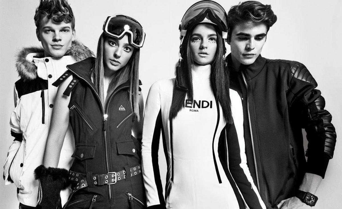 Ski Fashion Photos Sportalm, SOS Black Snow, Fendi, Lacroix