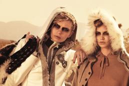ski fashion photo shoot