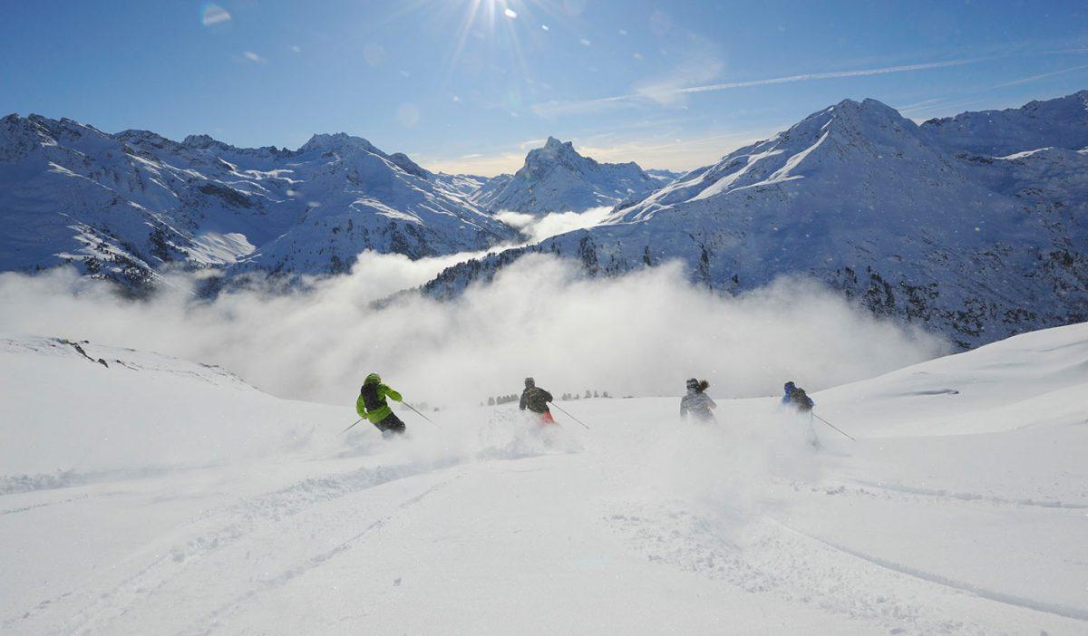 arlberg-skiing