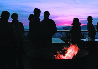 Powder Mountain, Utah dusk