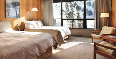 Alta Lodge, traditional lodge style
