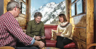 Alta Lodge, The hotel is dedicated to traditional ski lodge style.