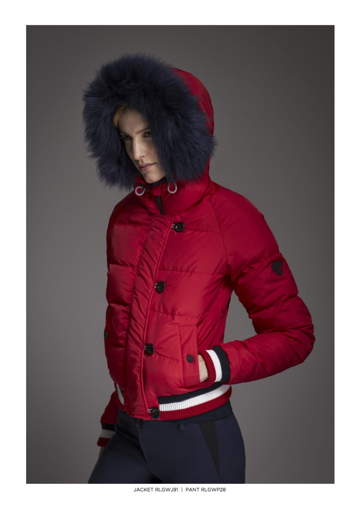 Rossignol Red Ski Jacket