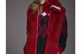 Rossignol Red Shearling Vest