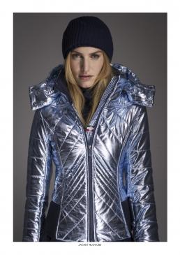 The Rossignol metallic ski jacket