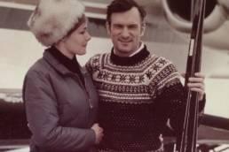 Hugh Hefner - Skiing & Snow Bunnies