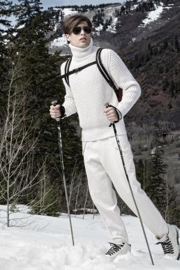 Zegna Ski Fashion Look