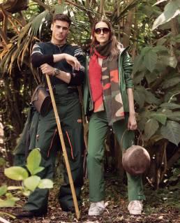 Ski Fashion Photo Jungle Love Picture Organic RH+