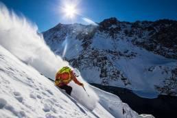 Amie Engerbretson Skier Bucket List checked off