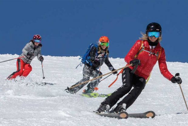 Skiing Jackson Hole Off Piste
