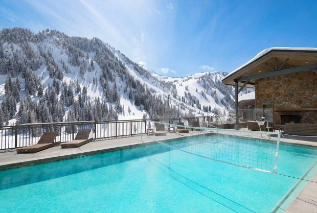 Snowpine Lodge Alta Utah Pool