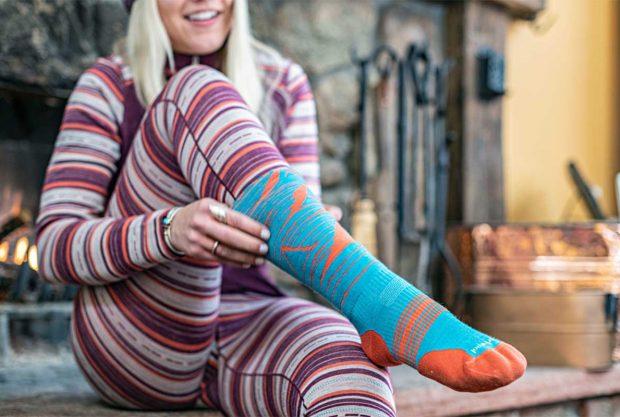 Warm Winter Socks Women Smartwool