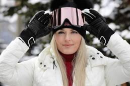 LIndsey Vonn Yniq Ski Goggles Video