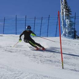 Mikaela Shiffrin Slalom Skiing