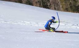 Mikaela Shiffrin Training Slalom