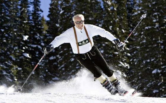 Klaus Obermeyer Skiing