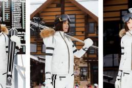 Ania B SOS Black Snow Ski Wear