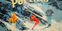 Vintage Ski Portillo Chile