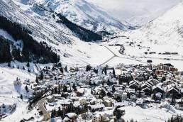 Andermatt ski resort